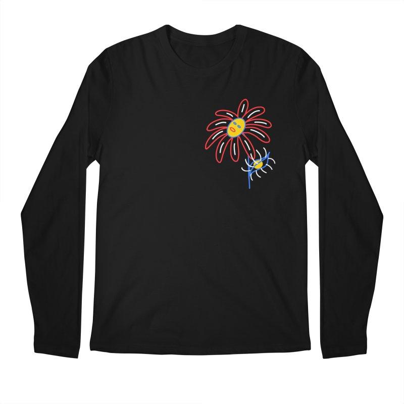 METAL PETALS Men's Regular Longsleeve T-Shirt by stephupsidefrown's Artist Shop