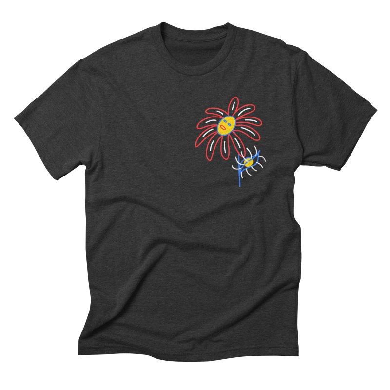 METAL PETALS Men's Triblend T-Shirt by stephupsidefrown's Artist Shop