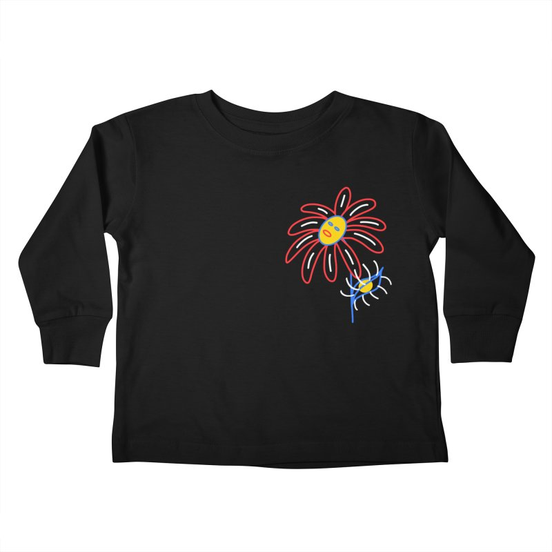 METAL PETALS Kids Toddler Longsleeve T-Shirt by stephupsidefrown's Artist Shop