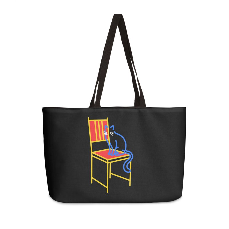ANGEL Accessories Weekender Bag Bag by stephupsidefrown's Artist Shop