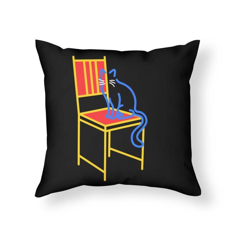 ANGEL Home Throw Pillow by stephupsidefrown's Artist Shop