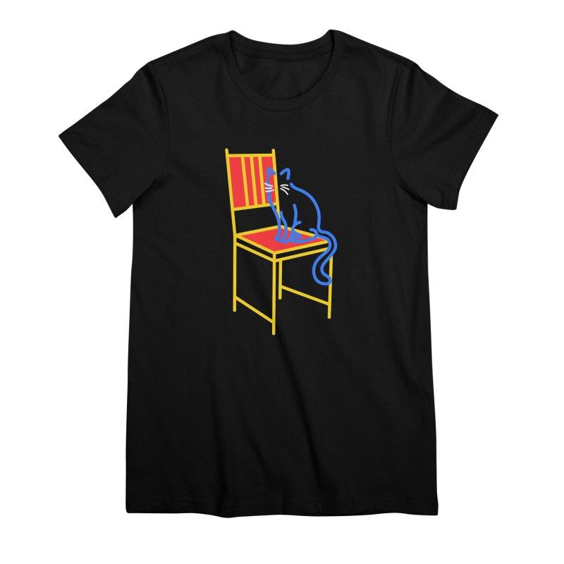 ANGEL Women's Premium T-Shirt by stephupsidefrown's Artist Shop