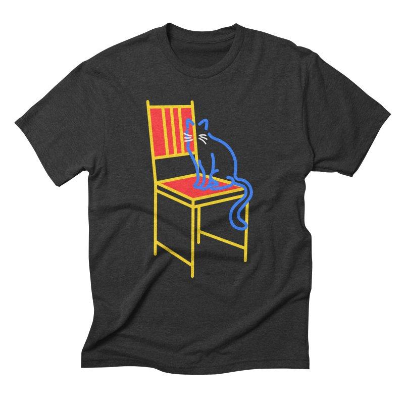 ANGEL Men's T-Shirt by stephupsidefrown's Artist Shop