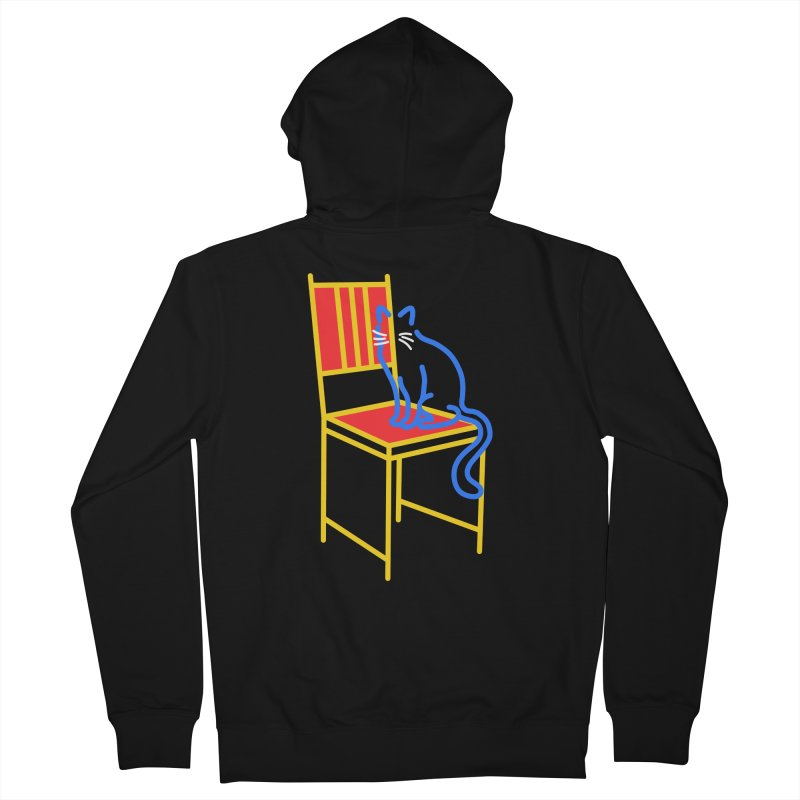ANGEL Men's French Terry Zip-Up Hoody by stephupsidefrown's Artist Shop