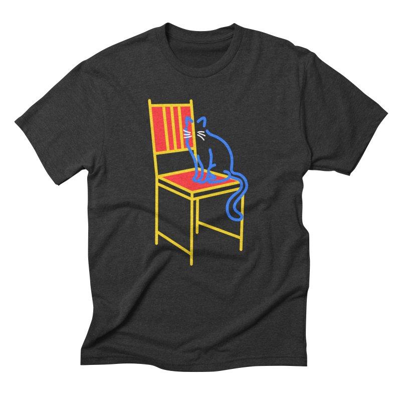 ANGEL Men's Triblend T-Shirt by stephupsidefrown's Artist Shop