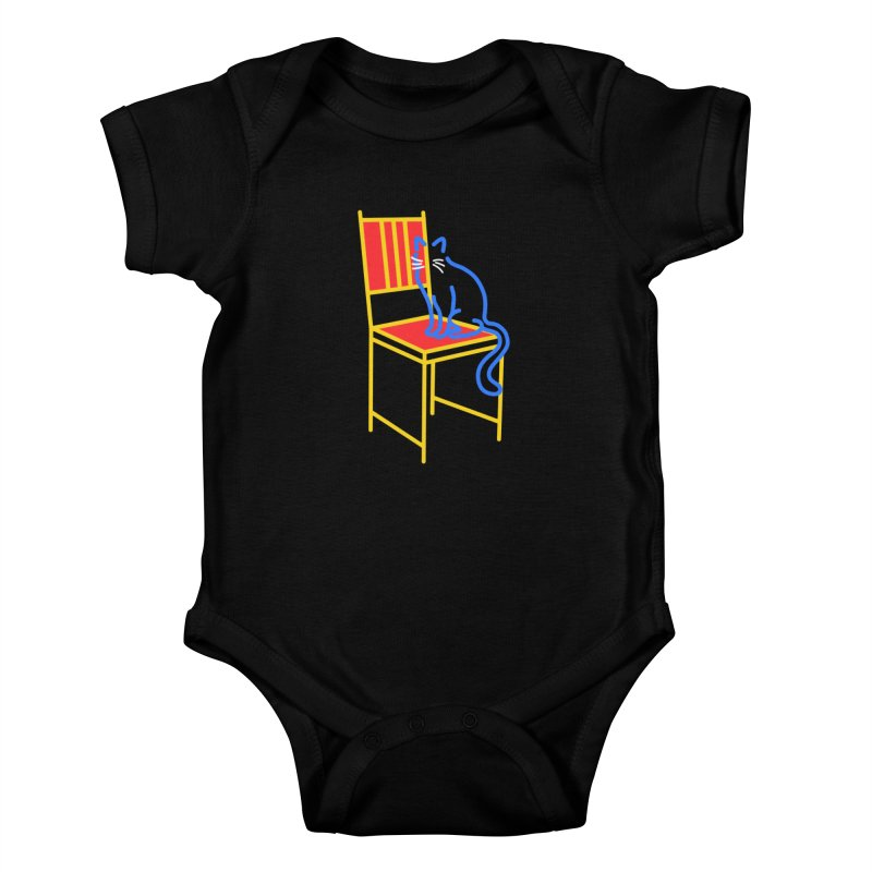 ANGEL Kids Baby Bodysuit by stephupsidefrown's Artist Shop