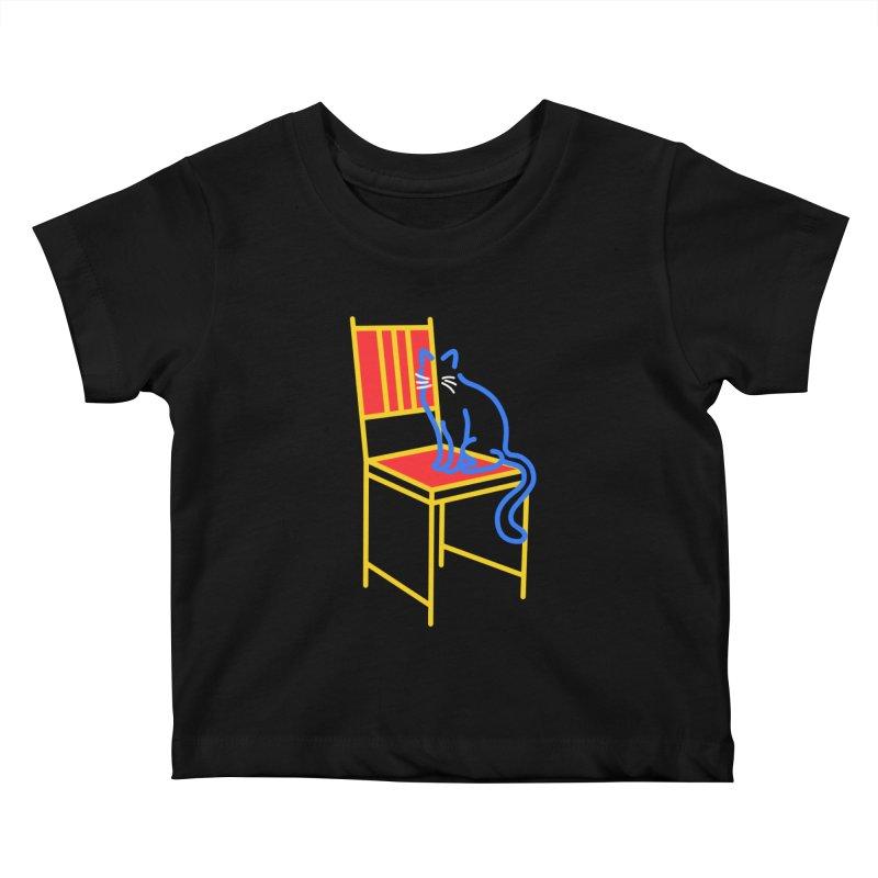 ANGEL Kids Baby T-Shirt by stephupsidefrown's Artist Shop