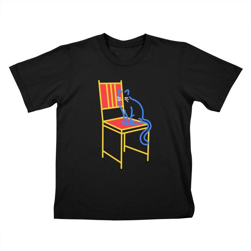 ANGEL Kids T-Shirt by stephupsidefrown's Artist Shop