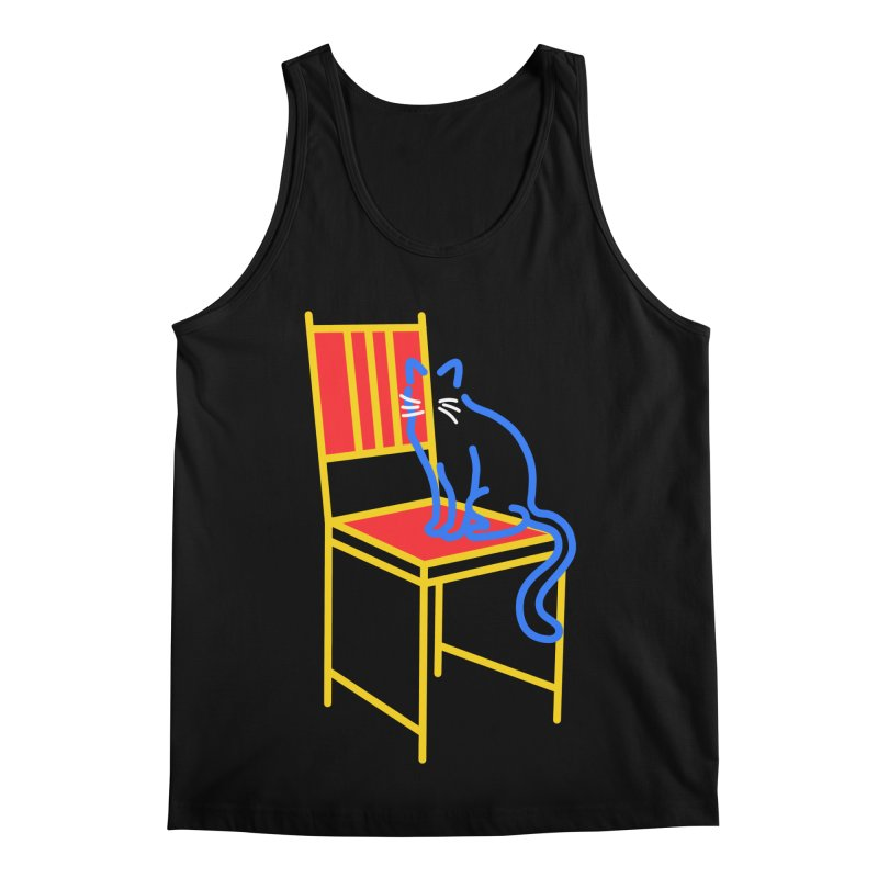 ANGEL Men's Regular Tank by stephupsidefrown's Artist Shop