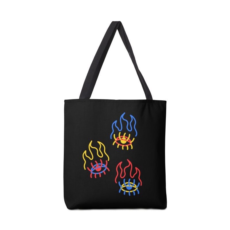 F(EYE)RE Accessories Tote Bag Bag by stephupsidefrown's Artist Shop