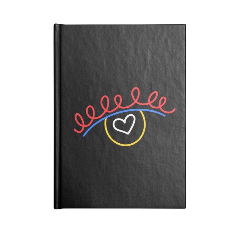 FLINE Accessories Blank Journal Notebook by stephupsidefrown's Artist Shop