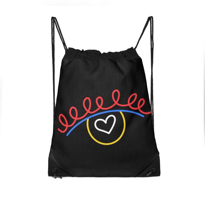FLINE Accessories Drawstring Bag Bag by stephupsidefrown's Artist Shop
