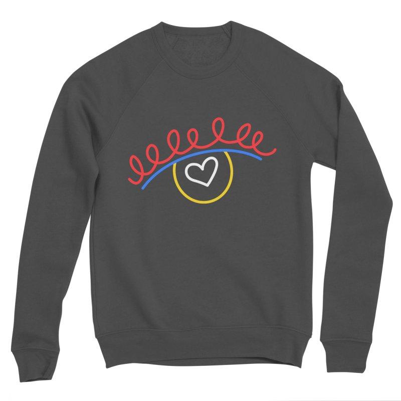 FLINE Men's Sponge Fleece Sweatshirt by stephupsidefrown's Artist Shop