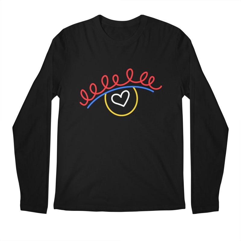 FLINE Men's Regular Longsleeve T-Shirt by stephupsidefrown's Artist Shop