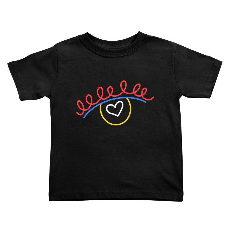 FLINE Kids Toddler T-Shirt by stephupsidefrown's Artist Shop