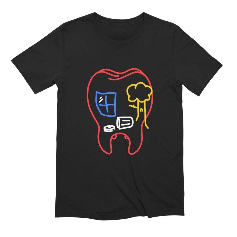 FALL Men's Extra Soft T-Shirt by stephupsidefrown's Artist Shop
