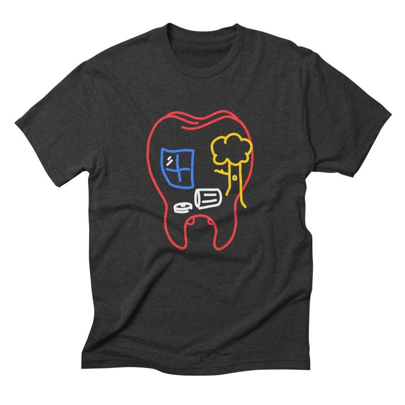 FALL Men's Triblend T-Shirt by stephupsidefrown's Artist Shop
