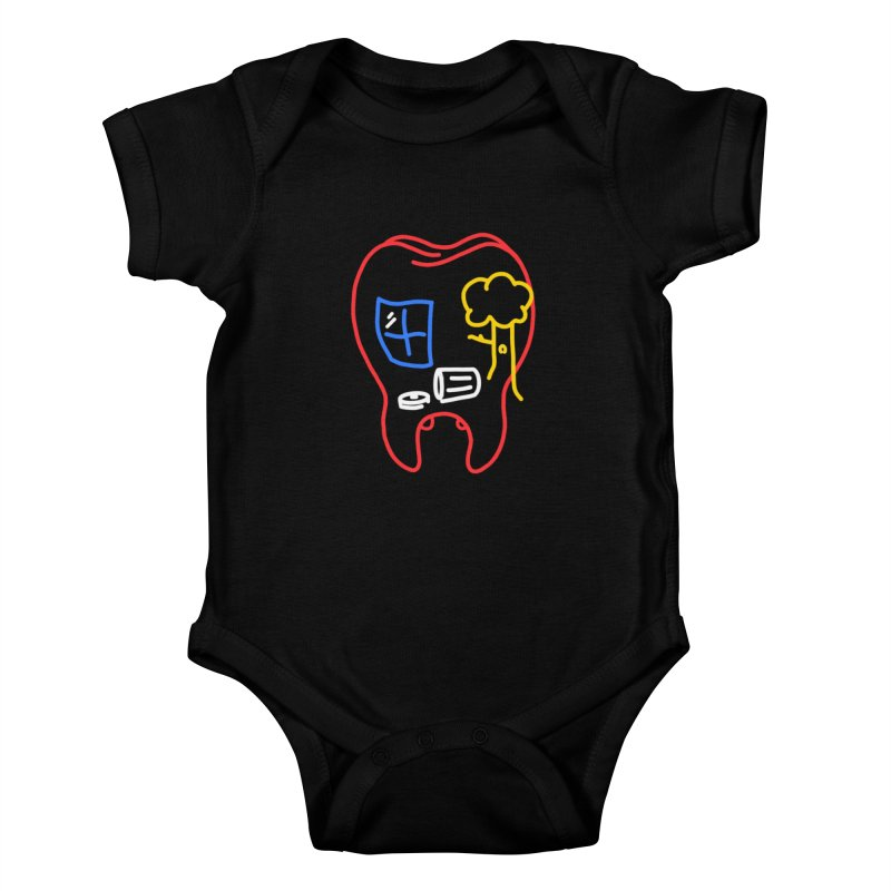 FALL Kids Baby Bodysuit by stephupsidefrown's Artist Shop