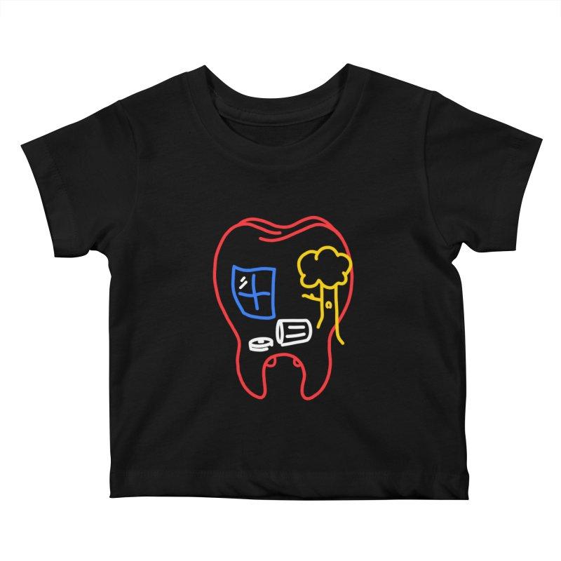 FALL Kids Baby T-Shirt by stephupsidefrown's Artist Shop