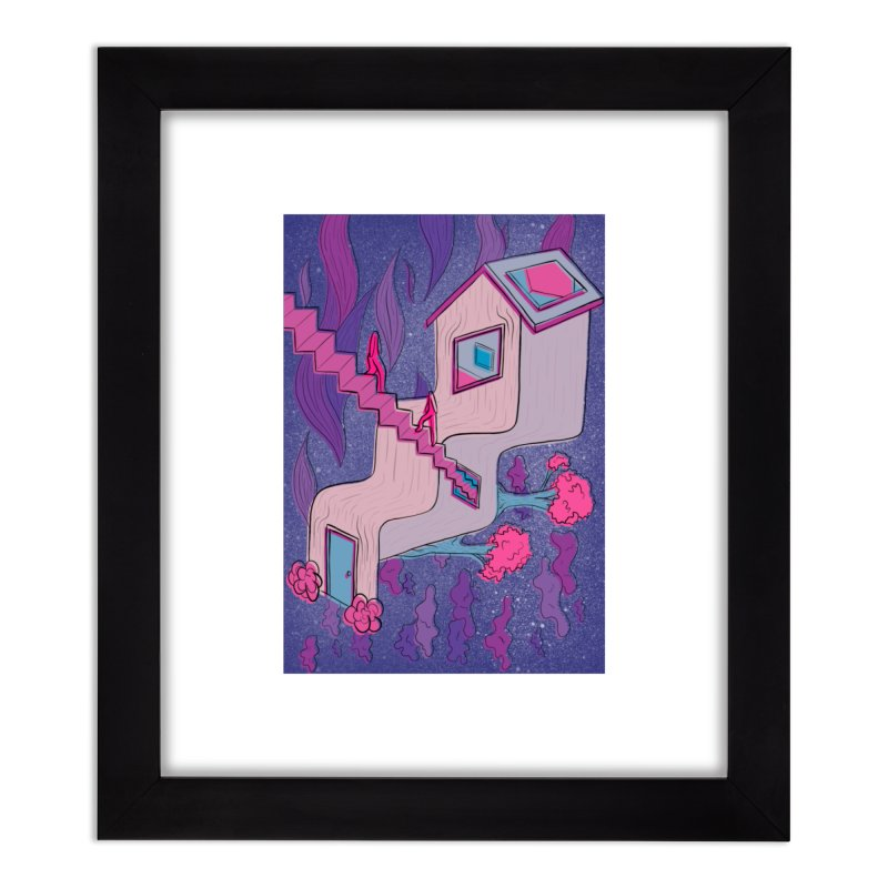 goodie Home Framed Fine Art Print by stephupsidefrown's Artist Shop