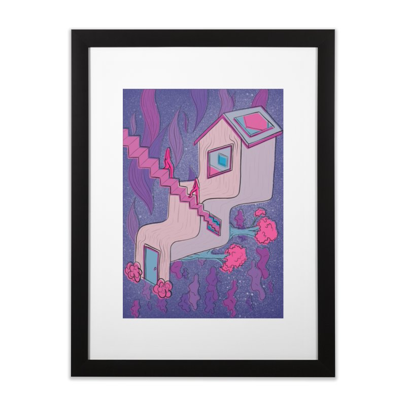 goodie Home Framed Fine Art Print by stephupsidefrown's Artist Shop