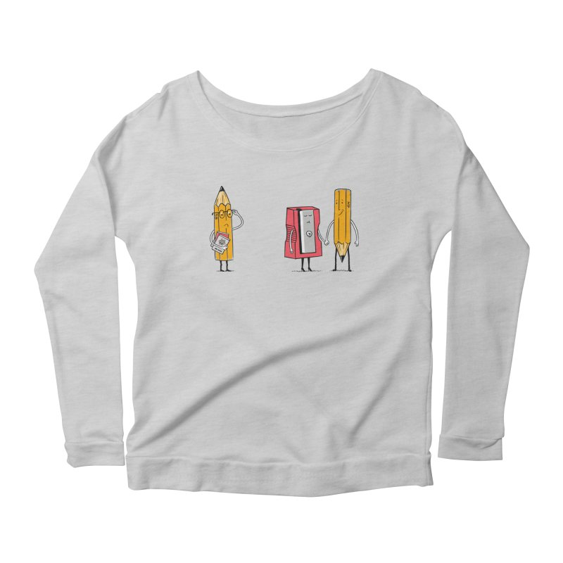 It's love Women's Scoop Neck Longsleeve T-Shirt by steppeua's Artist Shop