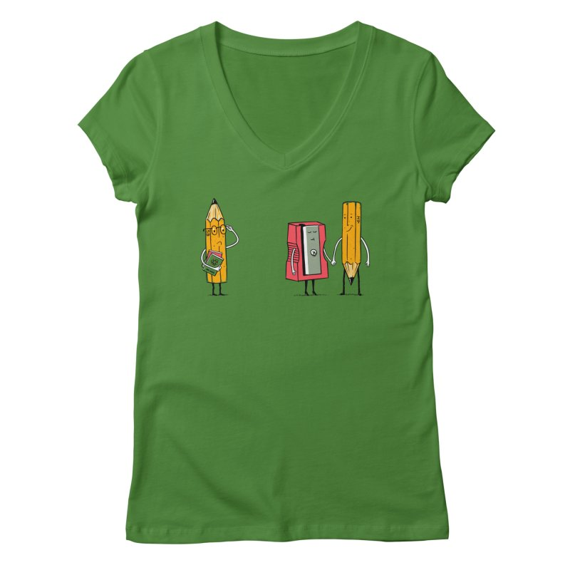 It's love Women's Regular V-Neck by steppeua's Artist Shop