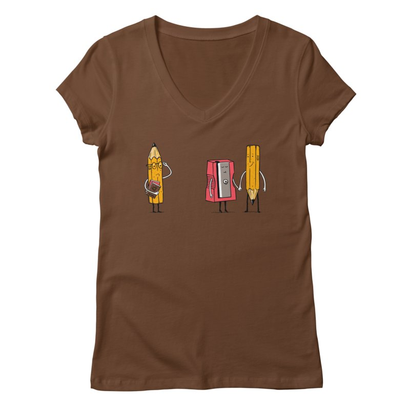 It's love Women's V-Neck by steppeua's Artist Shop