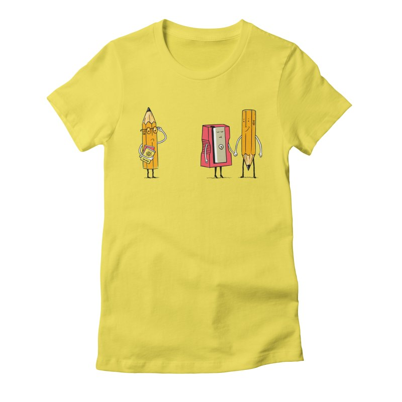 It's love Women's Fitted T-Shirt by steppeua's Artist Shop