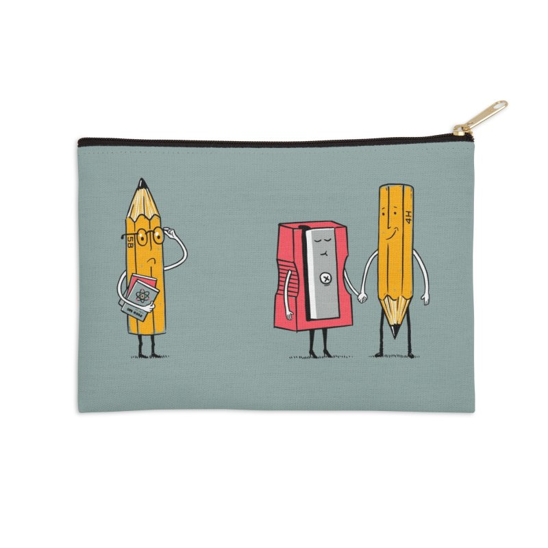 It's love Accessories Zip Pouch by steppeua's Artist Shop