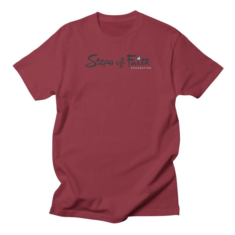 Steps of Faith Women's Regular Unisex T-Shirt by Steps of Faith