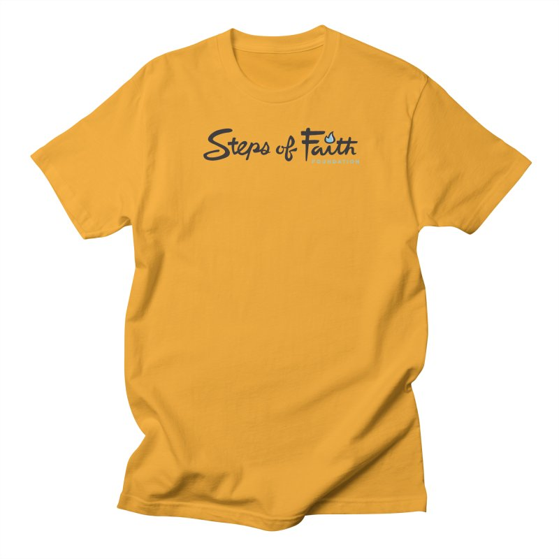Steps of Faith Men's Regular T-Shirt by stepsoffaith's Artist Shop