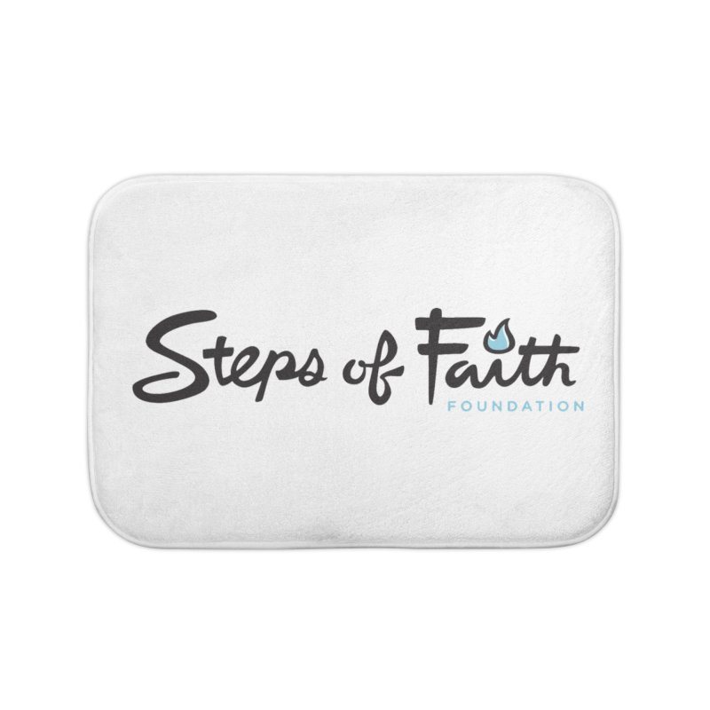 Steps of Faith Home Bath Mat by stepsoffaith's Artist Shop