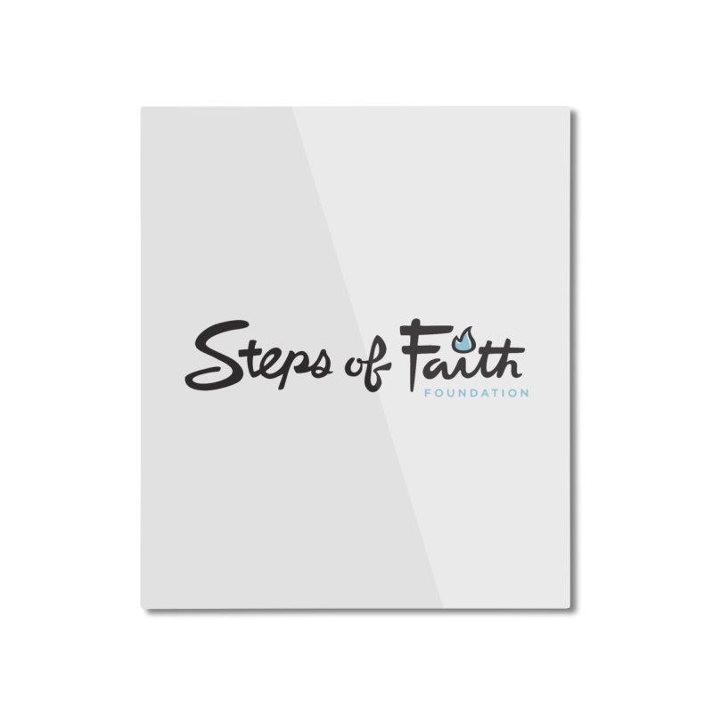 Steps of Faith Home Mounted Aluminum Print by Steps of Faith