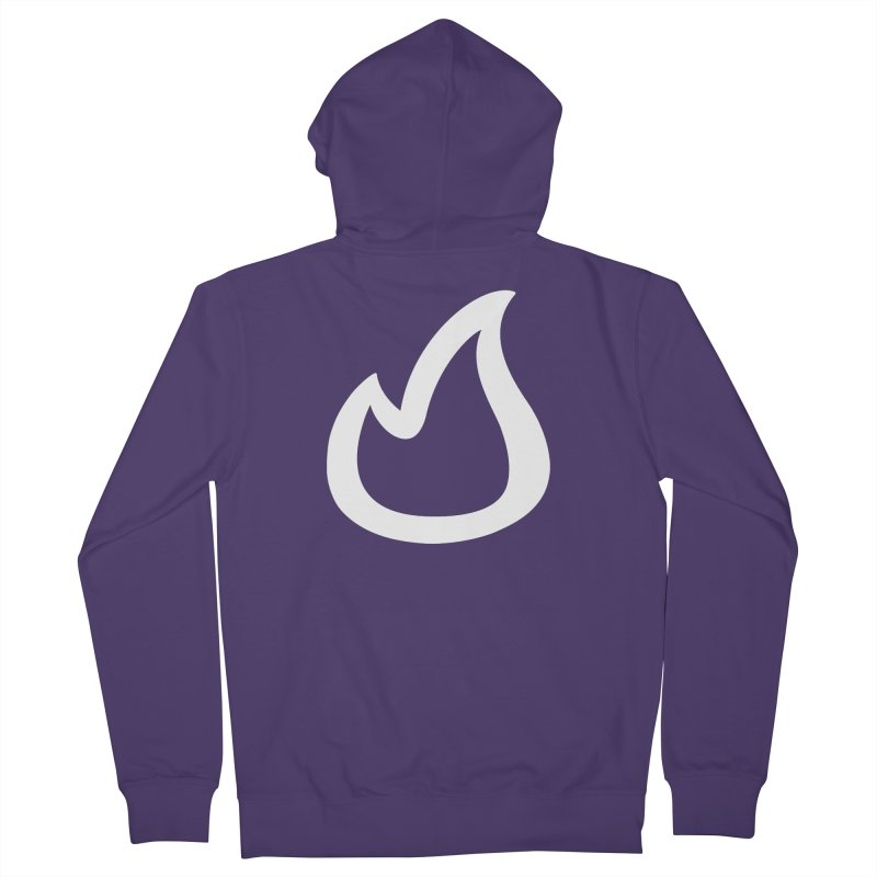 SOFicone  Women's French Terry Zip-Up Hoody by stepsoffaith's Artist Shop