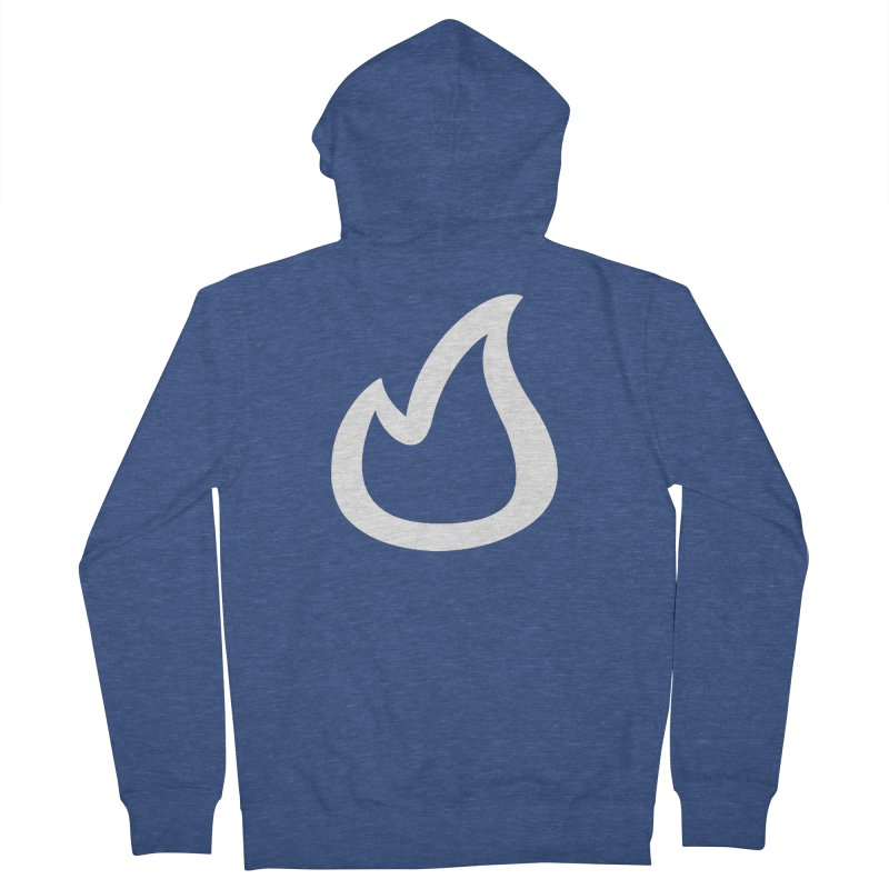 SOFicone  Men's French Terry Zip-Up Hoody by stepsoffaith's Artist Shop