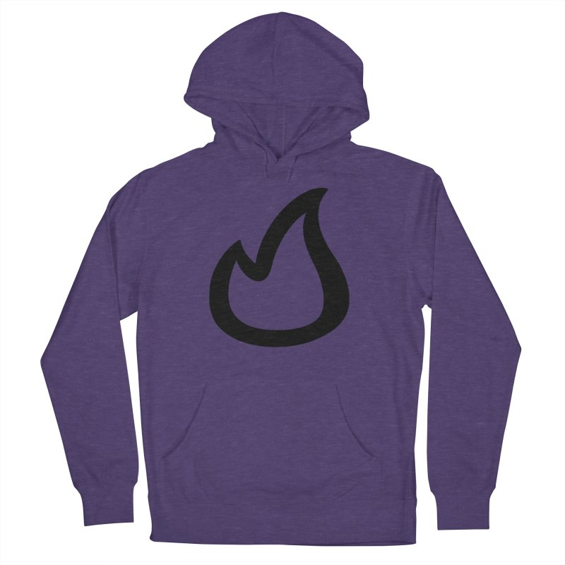 SOFicone Black Women's French Terry Pullover Hoody by stepsoffaith's Artist Shop