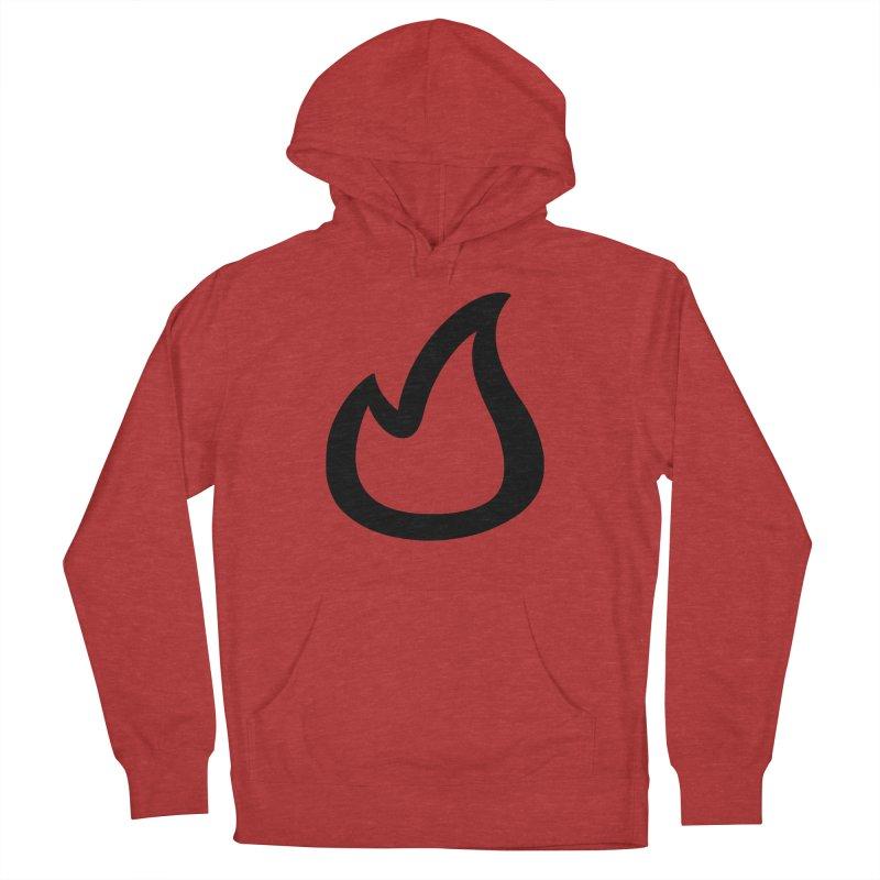 SOFicone Black Men's French Terry Pullover Hoody by stepsoffaith's Artist Shop