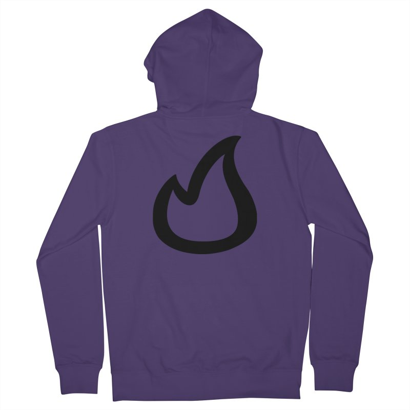 SOFicone Black Women's French Terry Zip-Up Hoody by Steps of Faith