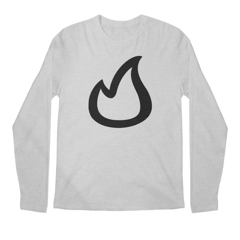 SOFicone Black Men's Regular Longsleeve T-Shirt by stepsoffaith's Artist Shop