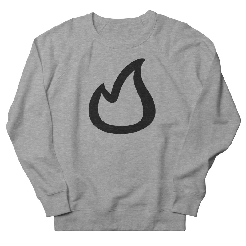 SOFicone Black Women's French Terry Sweatshirt by Steps of Faith