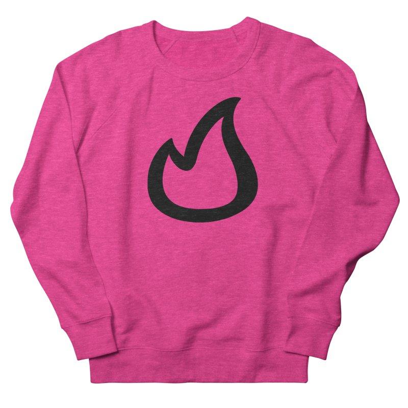 SOFicone Black Women's French Terry Sweatshirt by stepsoffaith's Artist Shop