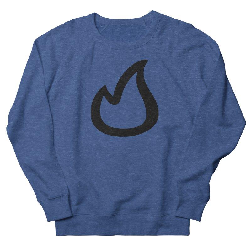 SOFicone Black Men's French Terry Sweatshirt by stepsoffaith's Artist Shop