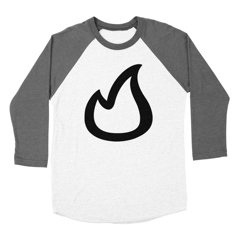 SOFicone Black Women's Baseball Triblend Longsleeve T-Shirt by Steps of Faith
