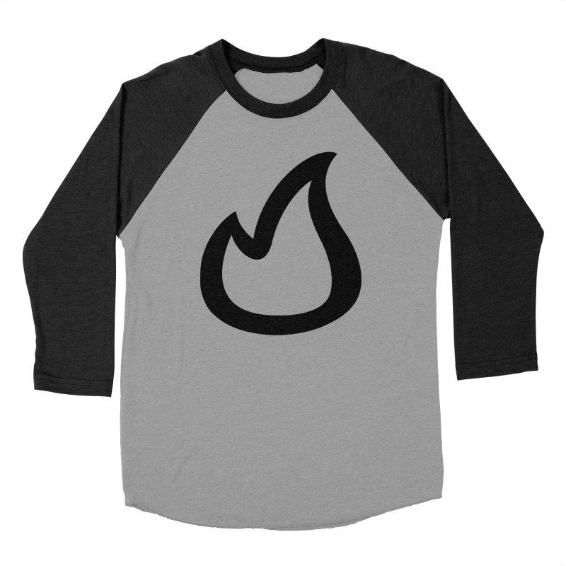 SOFicone Black Men's Baseball Triblend Longsleeve T-Shirt by stepsoffaith's Artist Shop