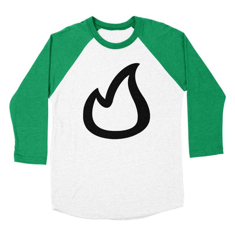 SOFicone Black Men's Baseball Triblend Longsleeve T-Shirt by Steps of Faith