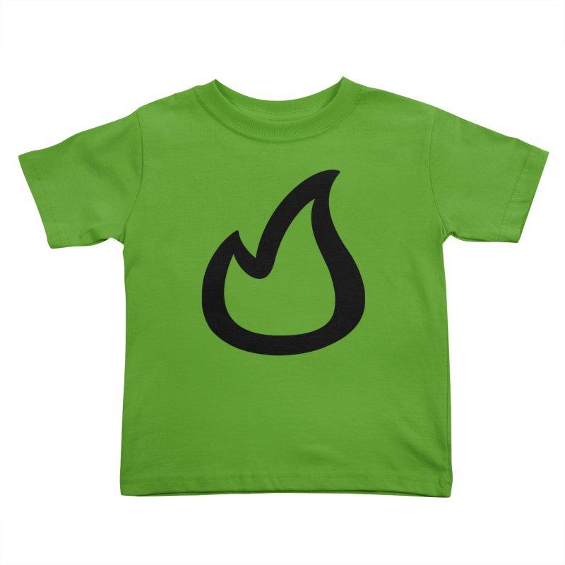 SOFicone Black Kids Toddler T-Shirt by stepsoffaith's Artist Shop