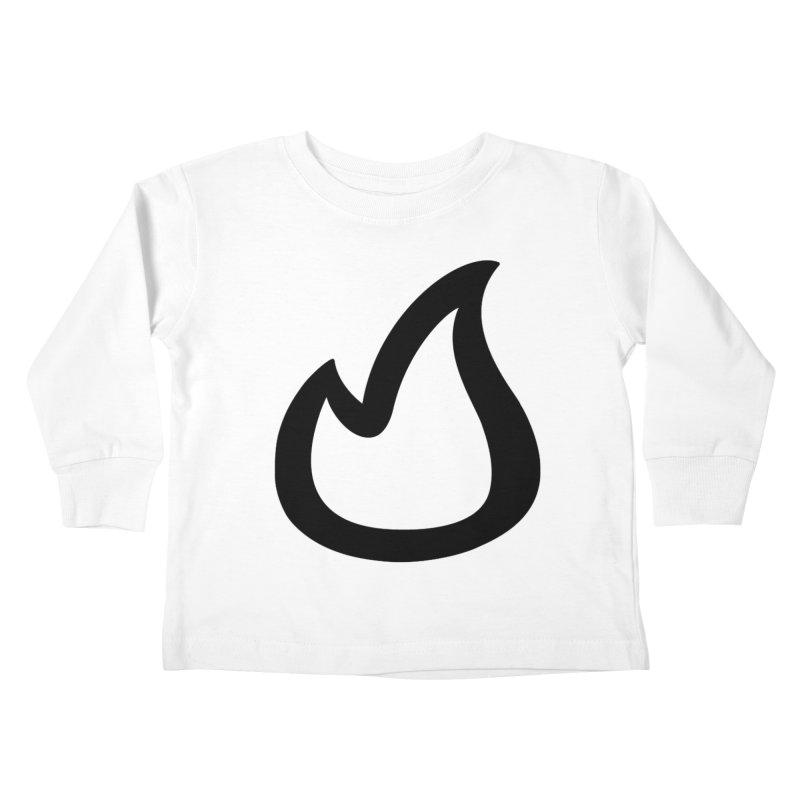 SOFicone Black Kids Toddler Longsleeve T-Shirt by stepsoffaith's Artist Shop