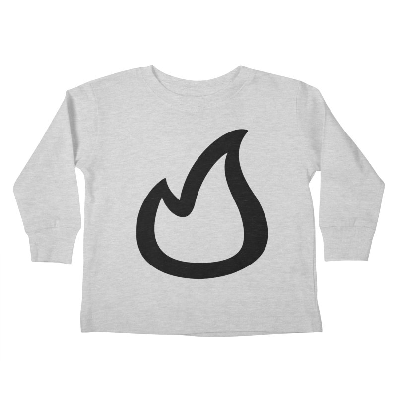 SOFicone Black Kids Toddler Longsleeve T-Shirt by Steps of Faith
