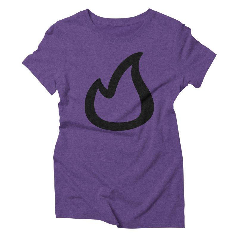 SOFicone Black Women's Triblend T-Shirt by stepsoffaith's Artist Shop